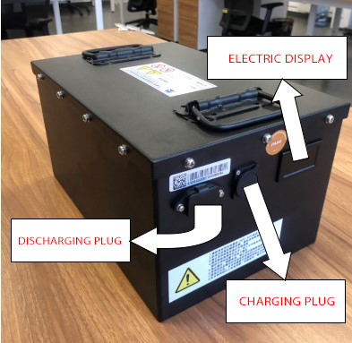 CHTC Battery pack for end delivery logistics vehicle full