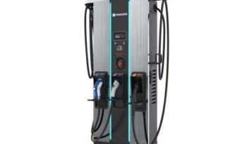 Phihong 60kW Free Standing DC Fast Charger full