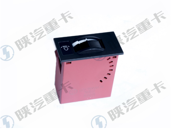 Fittings of Shaanxi automobile original factory headlight height adjusting switch DZ97189584711